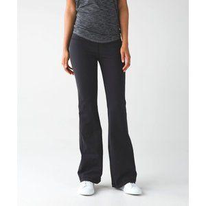 LULULEMON Black Grey Groove Pants
